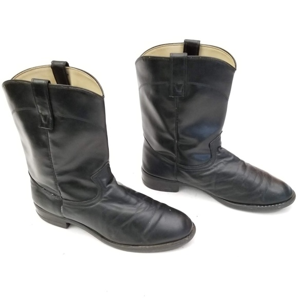 Double H Other - HH Black 6850 Cowboy Boots - Size 10.5 EE Wide